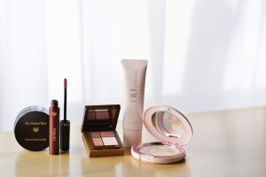 化粧品の集合