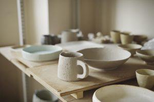 陶芸家の制作現場の作品