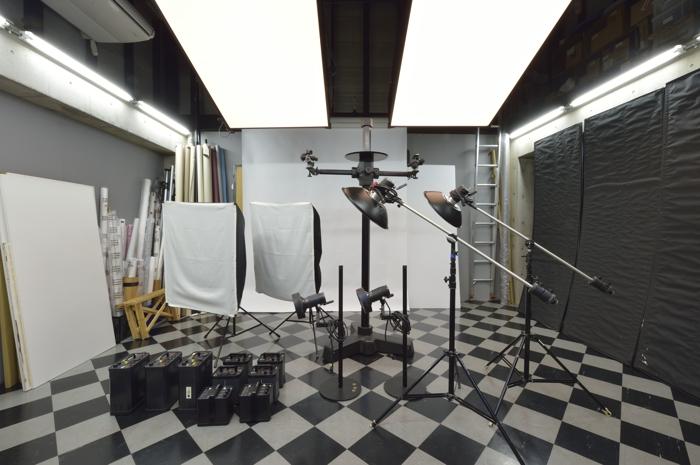 スタジオの設備