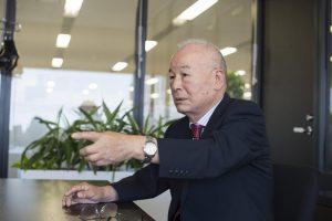 経営者のインタビュー写真