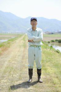 農家のシニア男性のポートレイト