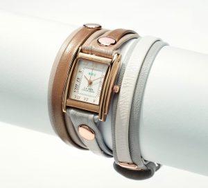 皮製腕時計