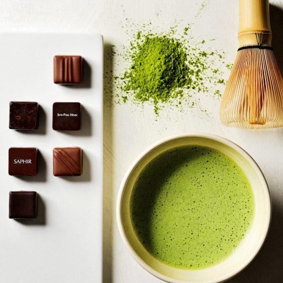 抹茶とチョコレート