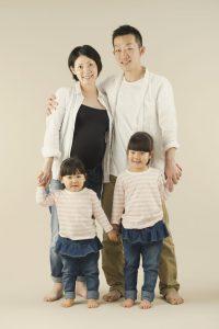 家族のマタニティフォト