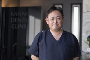 男性医師のポートレイト撮影