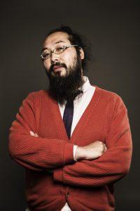 髭を生やした男性のポートレイト