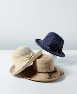 麦わら帽子の集合