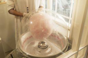 綿菓子の機械