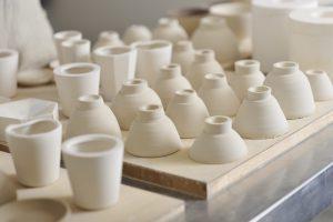 陶芸家の作品
