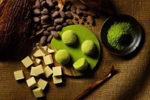 抹茶のショコラ大福
