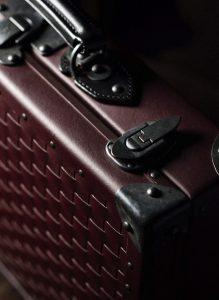 スーツケースのアップ