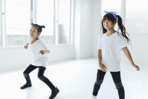ダンス教室の女の子