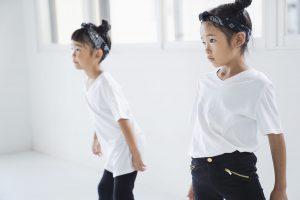 ダンス教室の子どもたち