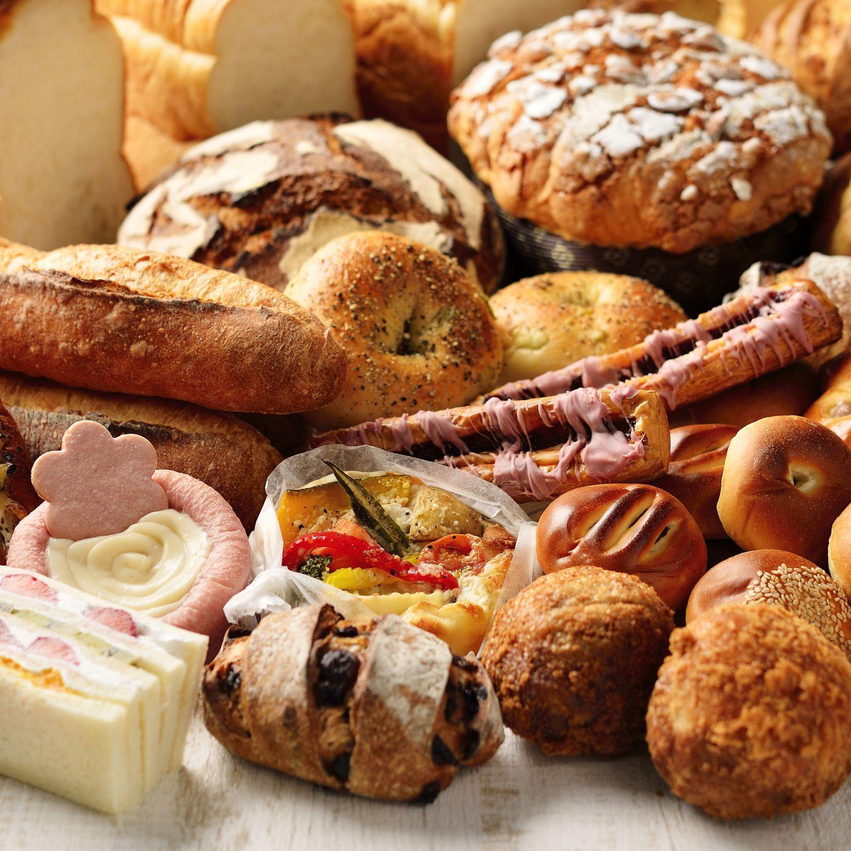 パンの集合写真