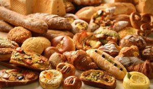 美味しそうなパンの集合