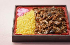 牛肉と卵のお弁当