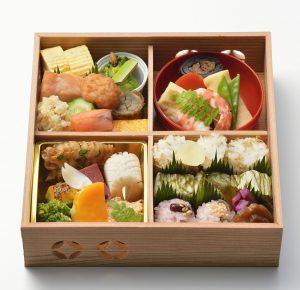 日本の料亭のお弁当