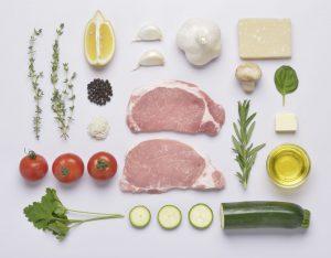 ポーク料理のノーリング写真