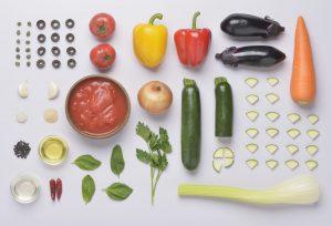 ラタトゥイユ料理のノーリング写真